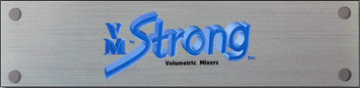 Volumetric Mixers By Strong